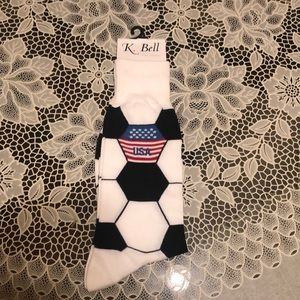 Other - Men's Soccer Themed Socks